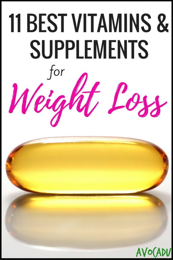 11 Best Vitamins & Supplements for Weight Loss | Vitamins to Help You Lose Weight | Weight Loss Supplements | Avocadu.com