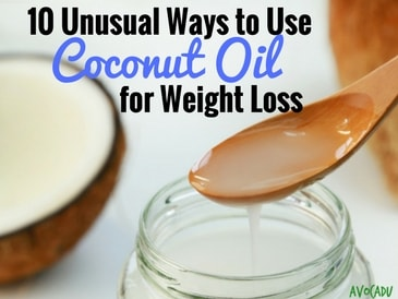 Unusual Ways to Use Coconut Oil for Weight Loss
