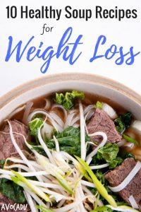 10 Healthy Soup Recipes for Weight Loss | Avocadu.com