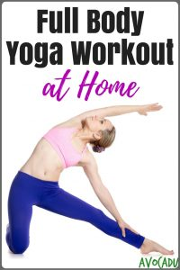 Full Body Yoga Workout at Home for Beginners | Avocadu.com