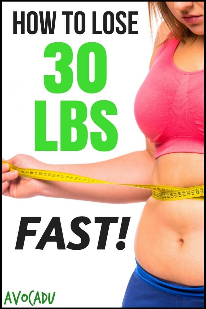 How to lose 30 lbs FAST - 5 Simple Scientific Steps | Avocadu.com