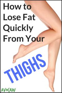 How to Lose Fat Quickly From Your Thighs | Avocadu.com