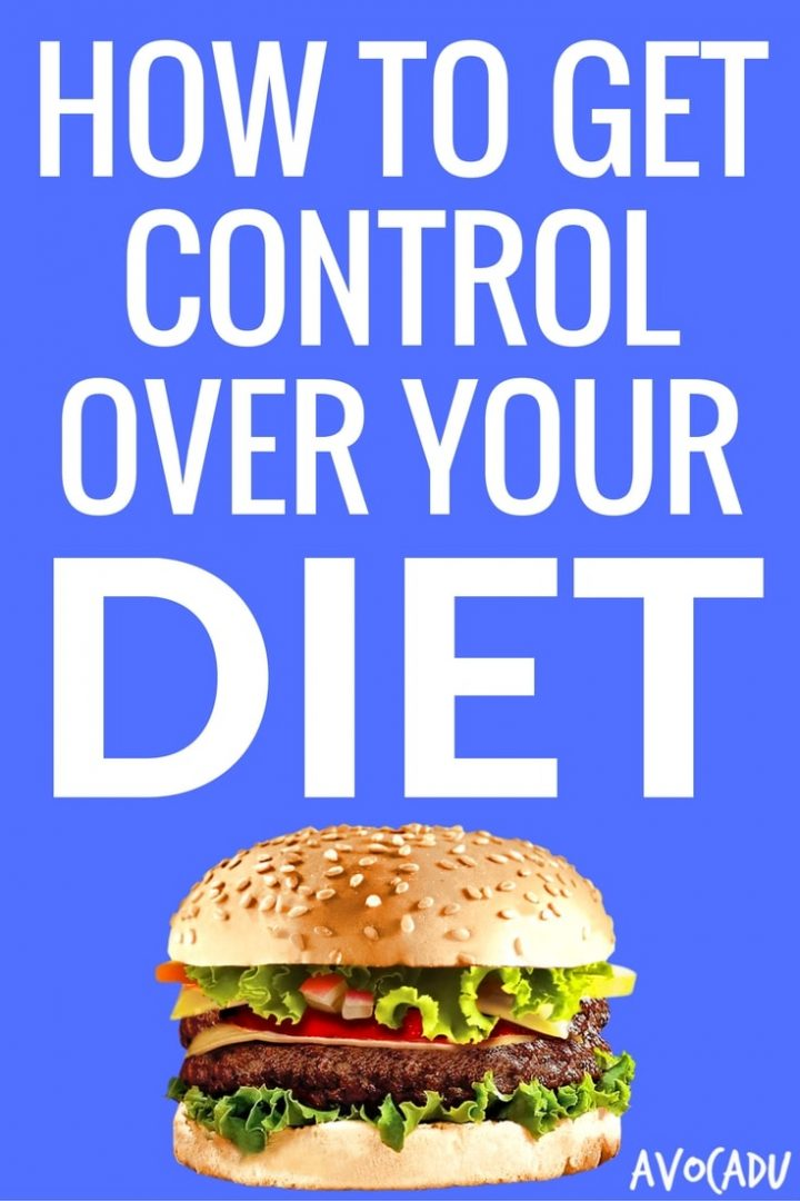 How to Get Control Over Your Diet | Avocadu.com