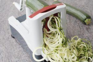 zucchini noodles spiralizer