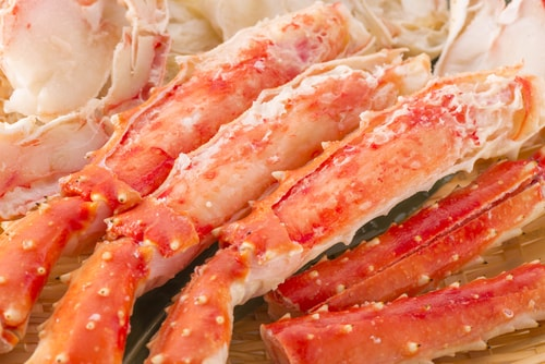 Imported king crab are among the fish you should never eat