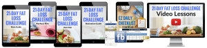 21-Day Fat Loss Challenge Bundle by Avocadu-min