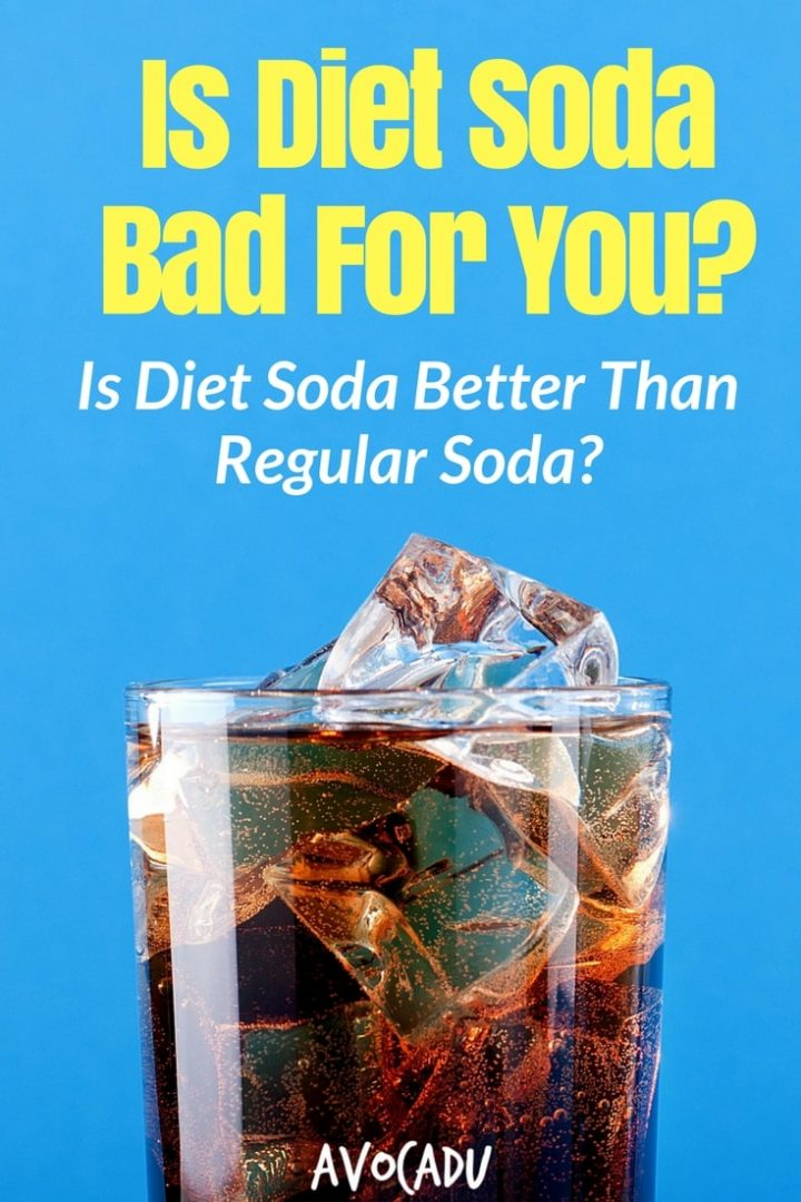 Is Diet Soda Bad For You? | Can Diet Soda Help You Lose Weight? | Weight Loss | Avocadu.com