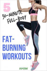30minute fullbody fatburning workouts  avocadu