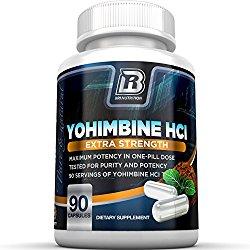Yohimbine weight loss pills reviewed