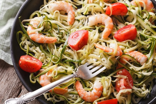 zucchini pasta healthy dinner recipe for weight loss