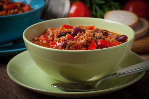 chili is one of the best healthy dinner ideas for weight loss