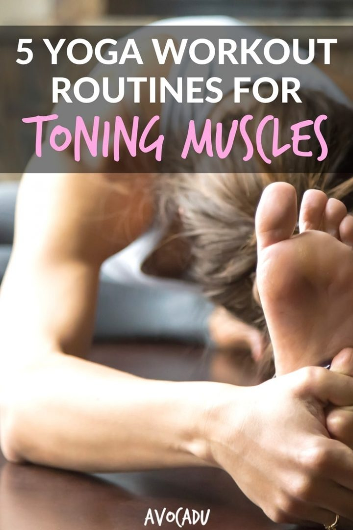 5 Yoga Workout Routines for Toning Muscles | Best Beginner Yoga Workouts | Yoga for Beginners at Avocadu.com