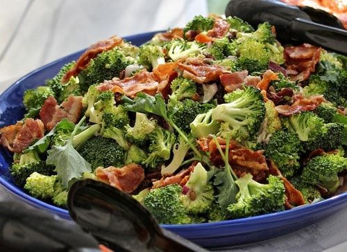 quick low-carb dinner recipes include broccoli salad