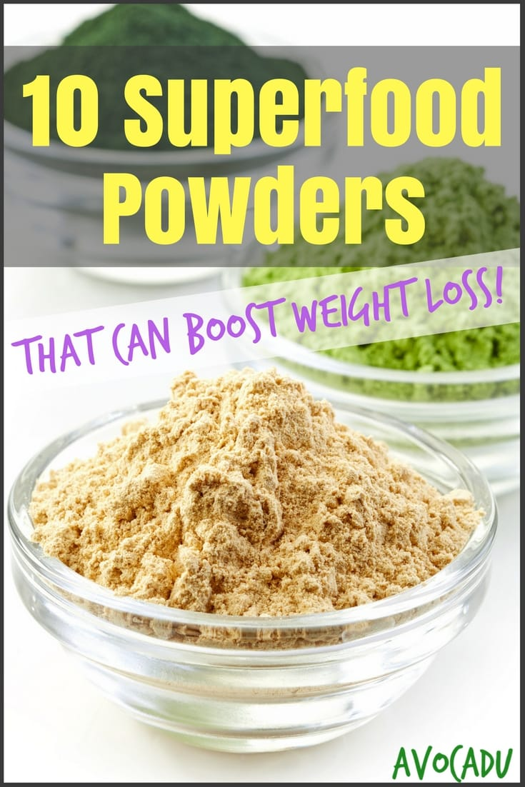10 Superfood powders to add to your diet to boost weight loss | Lose weight with these healthy superfoods | Avocadu.com