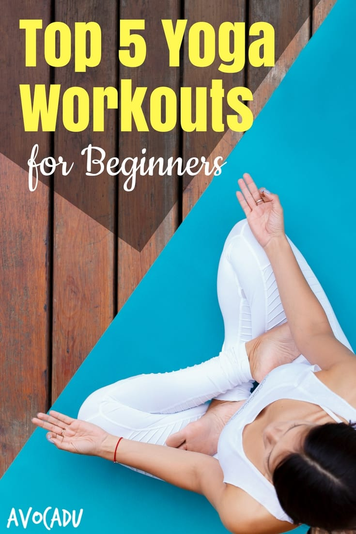 Top 5 yoga workouts for beginners to get started with yoga | Yoga for Beginners | Avocadu.com
