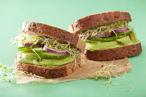 greens sandwich lunch recipe to make ahead