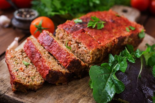 healthy meatloaf make ahead meal for weight loss