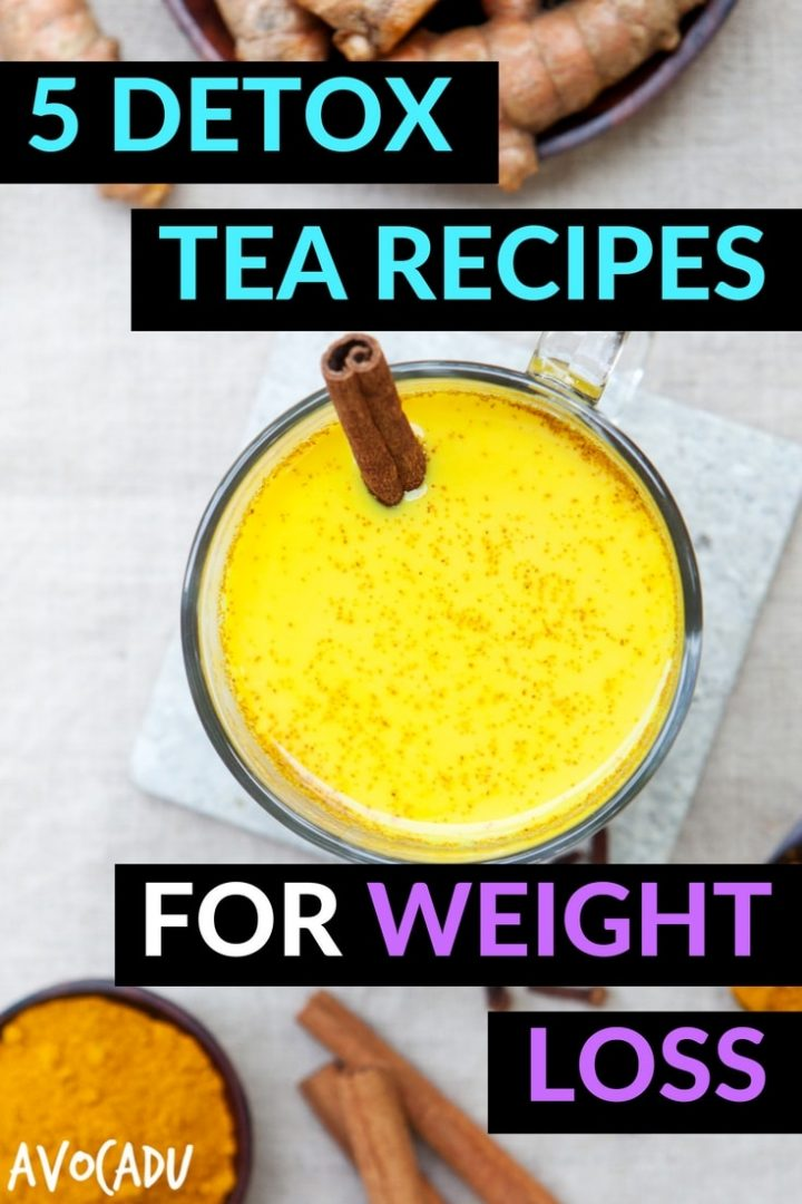 5 Detox tea recipes for weight loss | These detox drinks will help you lose weight when combined with a healthy diet | Avocadu.com