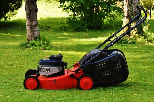 mowing the lawn to burn 500 calories