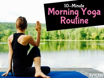 10-minute morning yoga routine