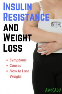 Insulin resistance and weight loss, including symptoms, treatment, and how to lose weight when you are insulin resistant   Avocadu.com