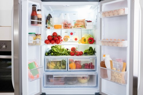 keep a healthy fridge to reduce sugar intake