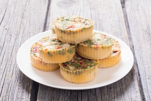 egg muffins freezer meals