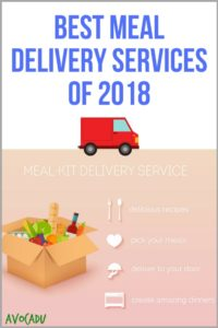 Best meal delivery services of 2018