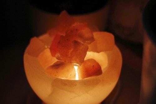 quality himalayan salt lamp light