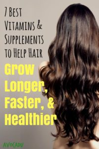 We don't always get all the nutrients we need from our diets, so we've rounded up the best vitamins and supplements to help hair grow longer, faster, and healthier to help you make sure you've got them all in!