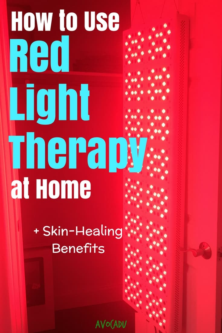 How to use red light therapy at home plus the skin-healing benefits of collagen and more from red light therapy | Avocadu.com