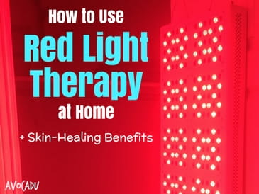 How to Use Red Light Therapy at Home
