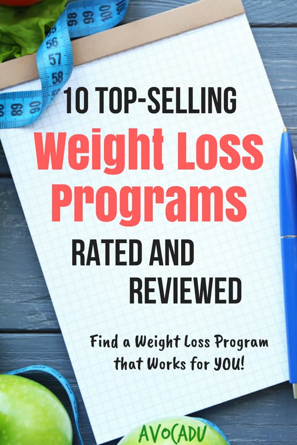 If you're ready to drop some pounds but aren't sure where to start, these weight loss programs rated and reviewed should be able to help you make a decision. | Avocadu.com