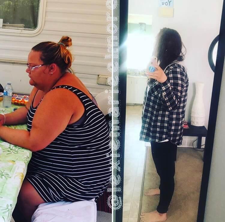 lexie weight loss progress