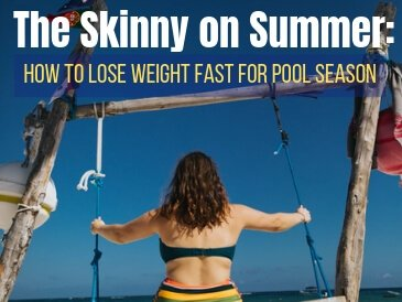 lose weight fast for pool season