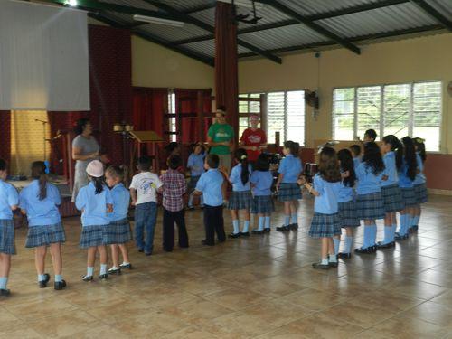 Singing - Honduras
