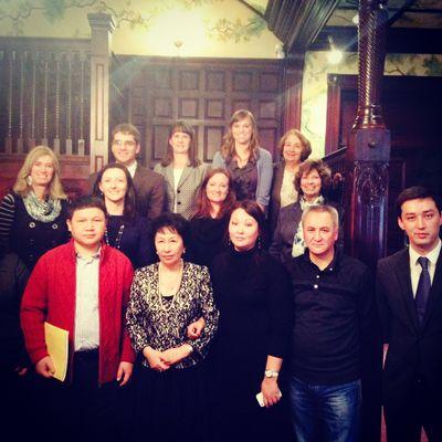 Meet with Kazakh Officials 11.2013