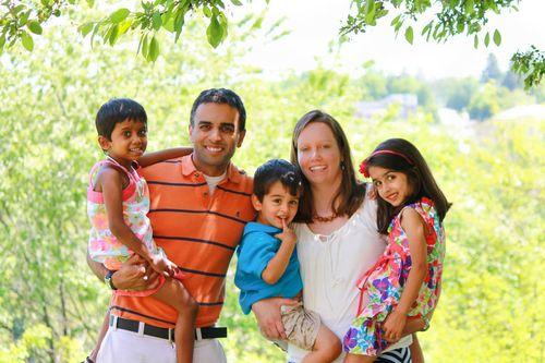 India adoptive family