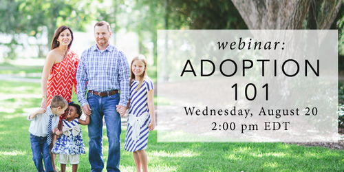 Adoption 101 ad
