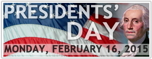 Presidents Day 2015
