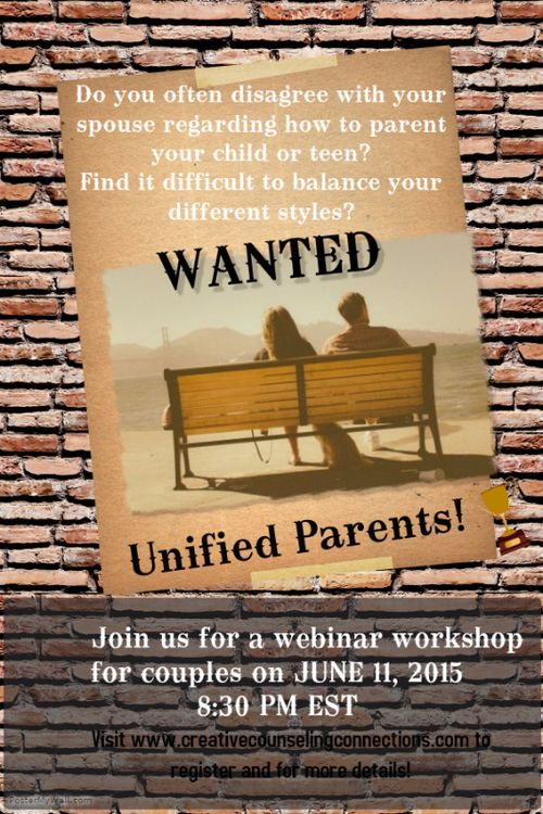 Wanted Unified Parents.poster
