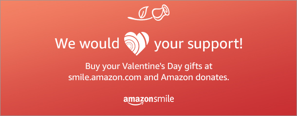 Valentines Day AmazonSmile 2017