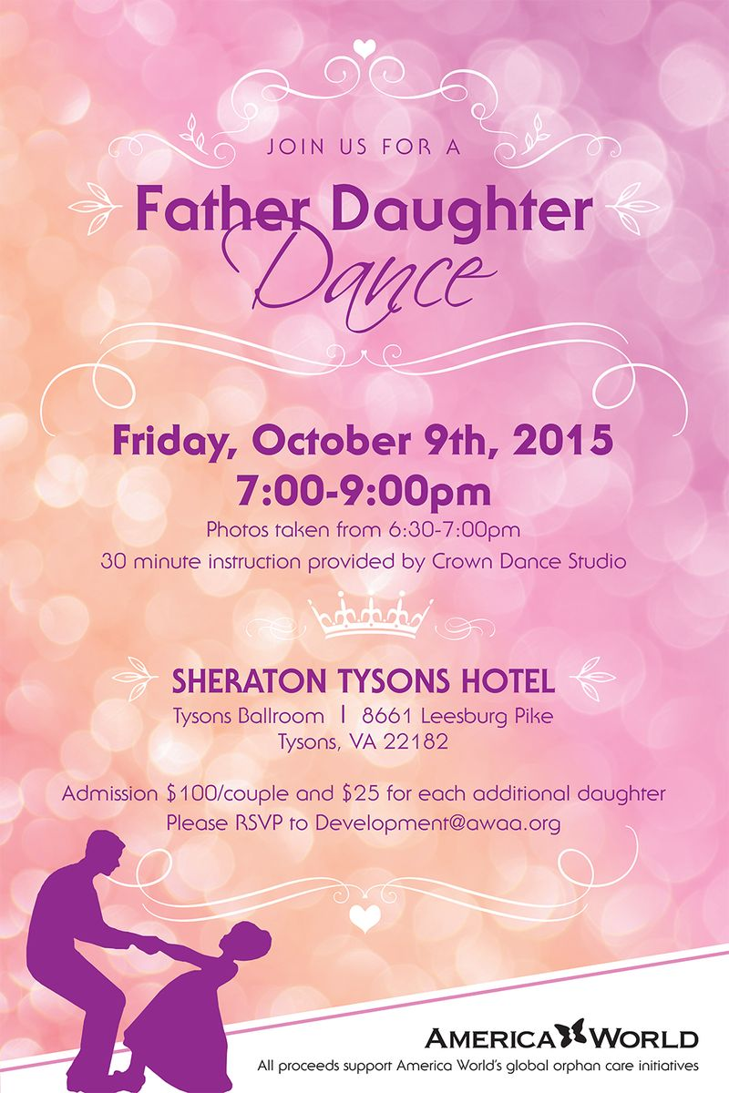 Father Daughter Dance Poster 2