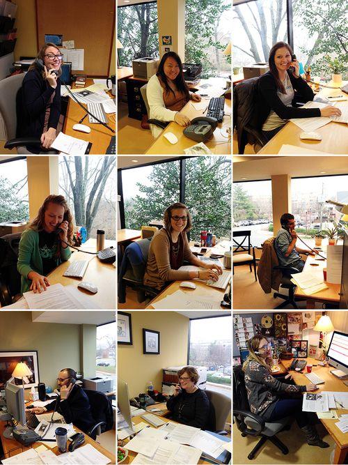 Staff at DOH