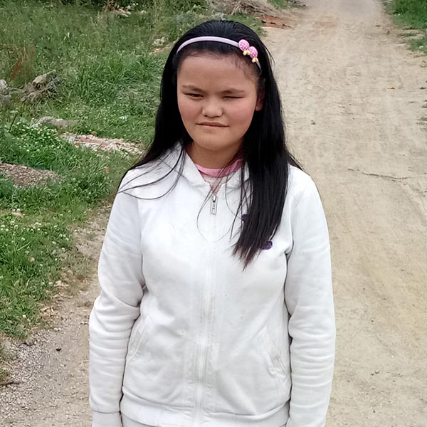 China adoption 13-year-old girl
