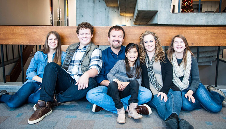 Casting Crowns' Mark Hall and Family, China adoption