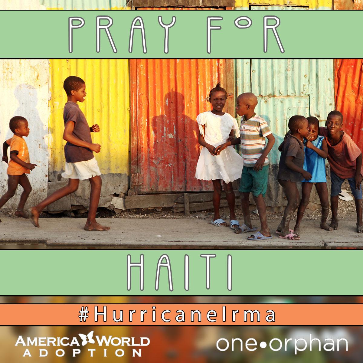 Pray for Haiti | Hurricane Irma