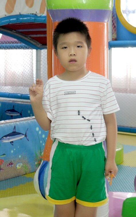 9 year old, Matt, lives in China and needs a forever family.