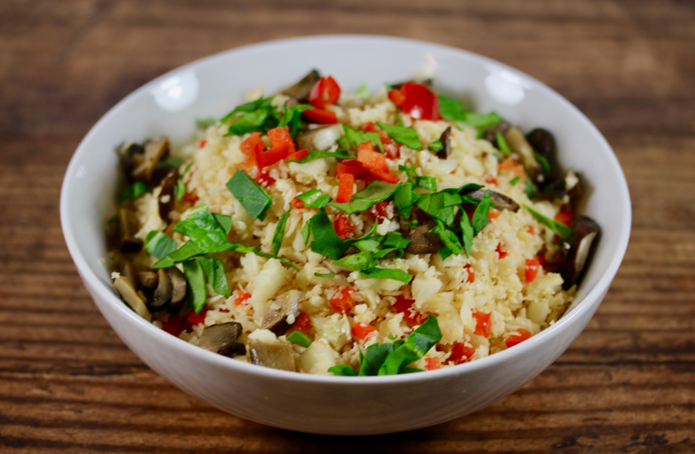 Cauliflower Vegetable Rice