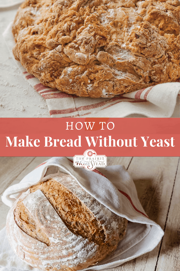 make bread without yeast